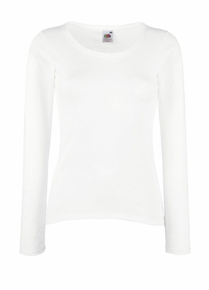 Fruit of the Loom 61-404-0 - Lady-Fit Valueweight LS T