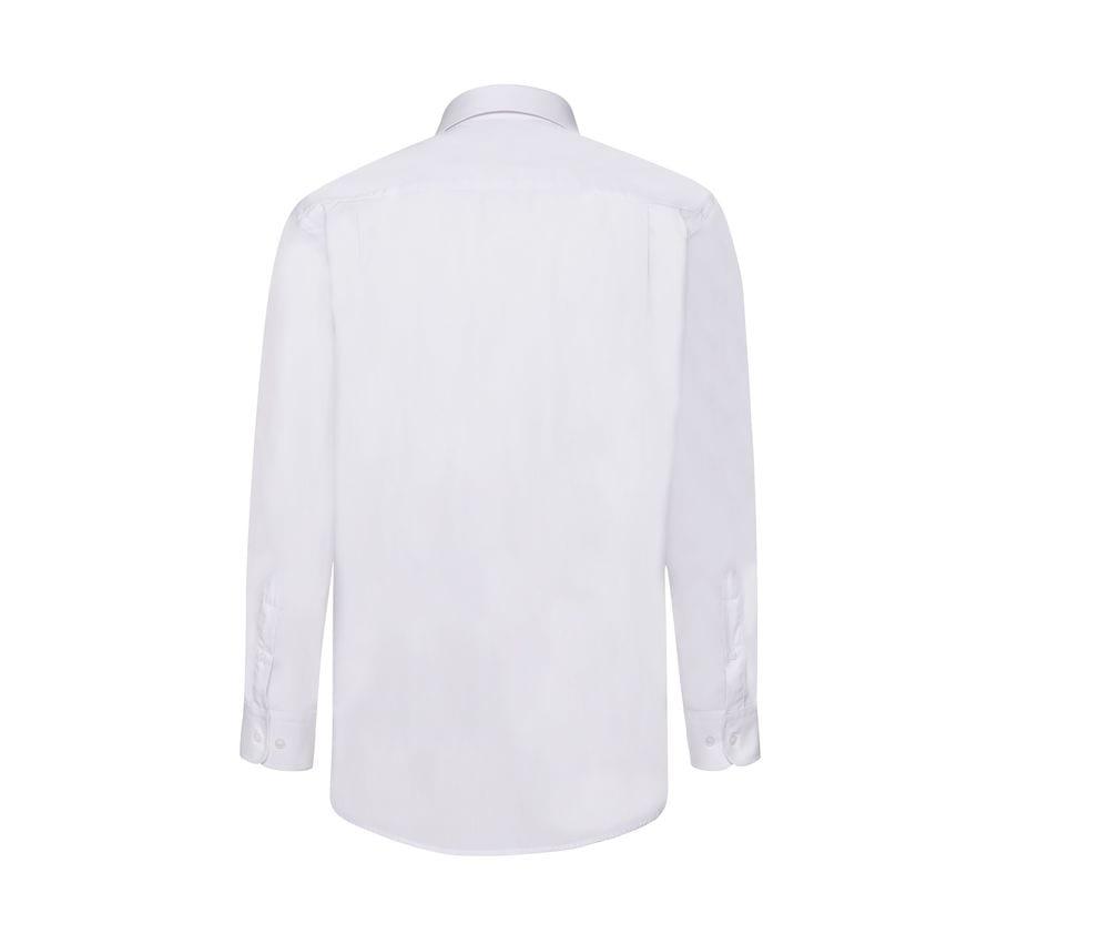 Fruit of the Loom 65-118-0 - Long Sleeve Poplin Shirt