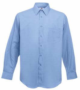 Fruit of the Loom 65-118-0 - Long Sleeve Poplin Shirt