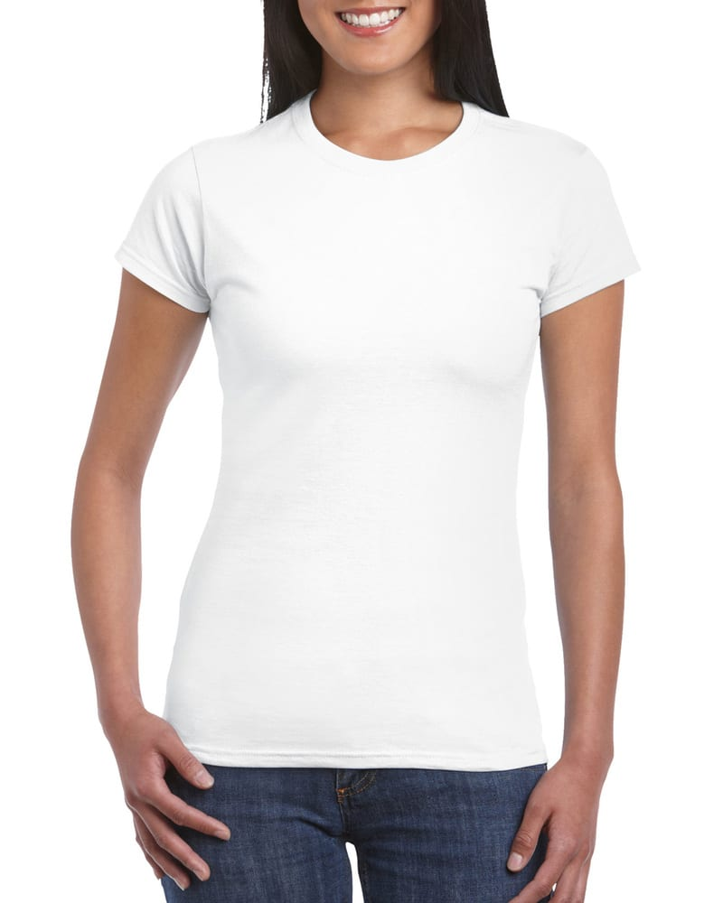 Gildan 64000L - Ladies Fitted Ring Spun T-Shirt