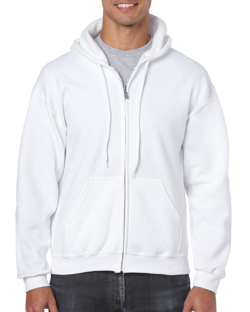 Gildan 18600 - Heavyweight Full Zip Hooded Sweat