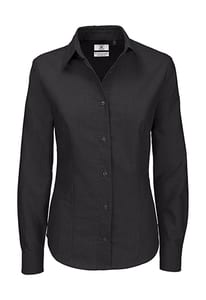 B&C Oxford LSL Women - Ladies` Oxford Long Sleeve Shirt - SWO03