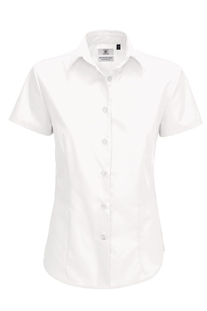 B&C SWP64 - Ladies' Smart Short Sleeve Poplin Shirt