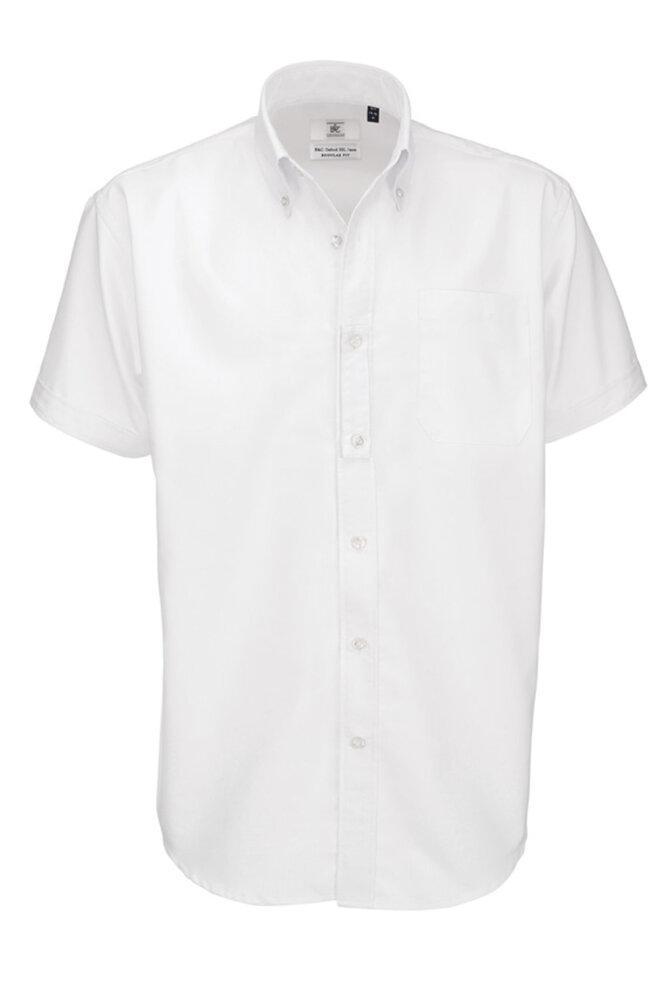 B&C SMO02 - Men's Oxford Short Sleeve Shirt