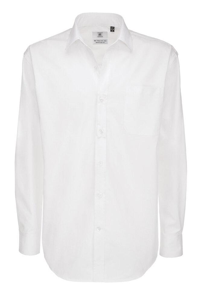 B&C SMT81 - Men's Sharp Twill Cotton Long Sleeve Shirt
