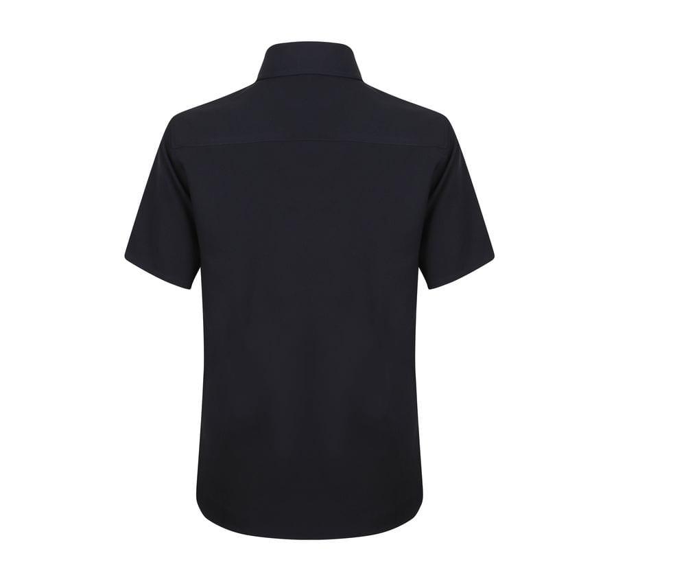Henbury HB595 - Wicking antibacterial short sleeve shirt