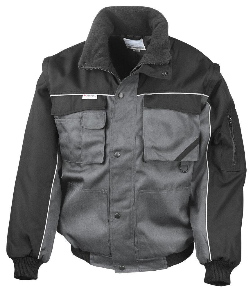 Result Work-Guard RE71A - Work-Guard zip sleeve heavy duty pilot jacket
