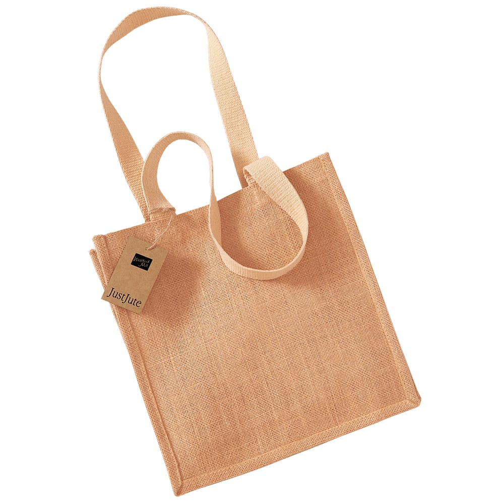 Westford Mill WM406 - Jute compact tote Bolso Mujer