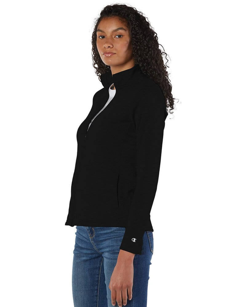 Champion S260 - Ladies' Colorblocked Performance Full-Zip Sweatshirt