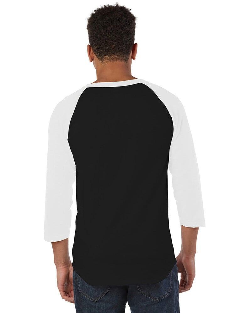 Champion T137 - T-shirt de baseball raglan
