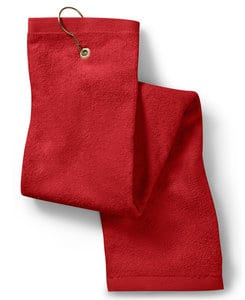 Towels Plus T68TH - Tri-Fold Hand Towel with Grommet and Hook