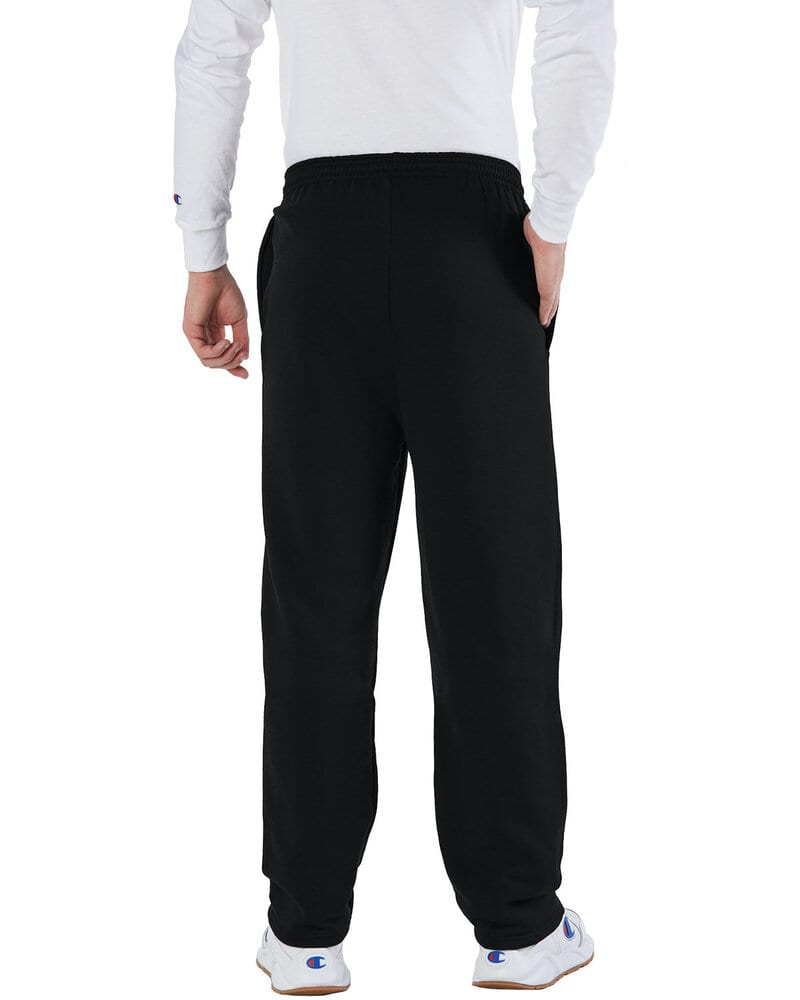 Champion Men/'s Eco 9 oz Open-Bottom Fleece Pant with Pockets P800 S-2XL