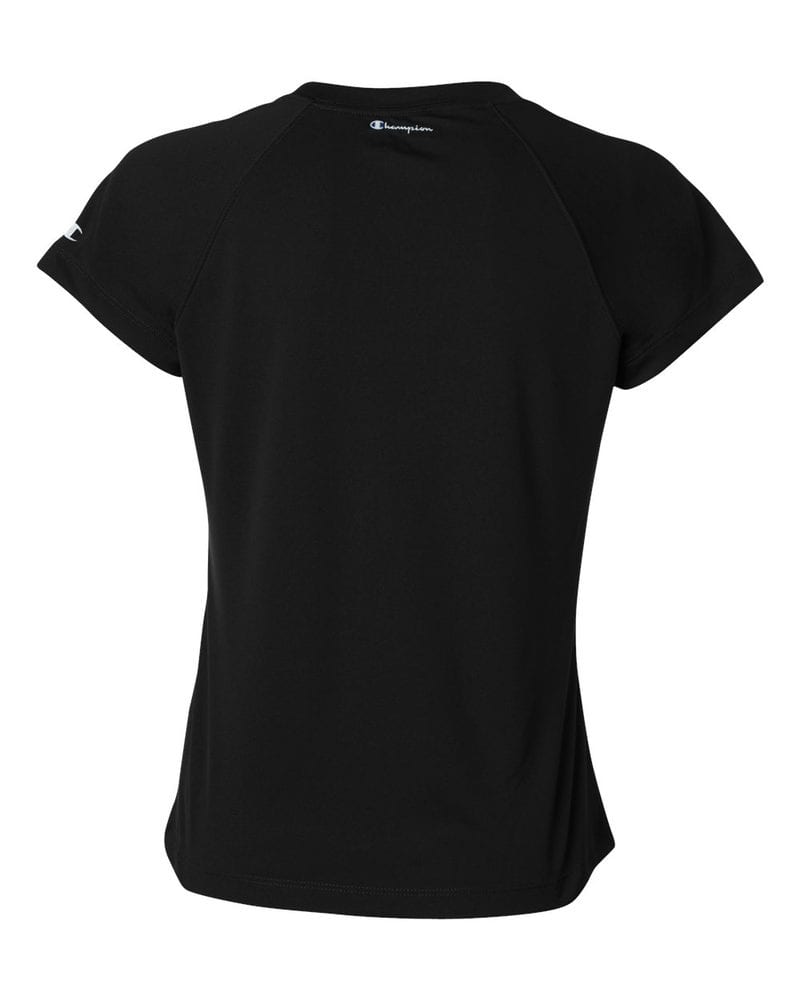Champion CW23 - Ladies' Double Dry® V-Neck Performance T-Shirt