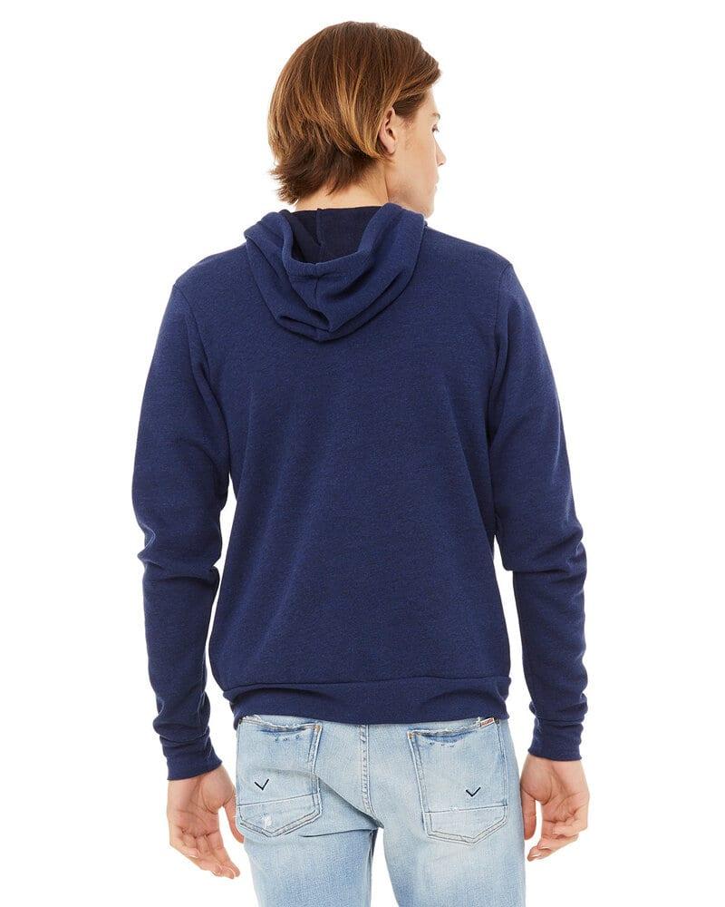 Bella+Canvas 3909 - Unisex Triblend Full-Zip Sweatshirt