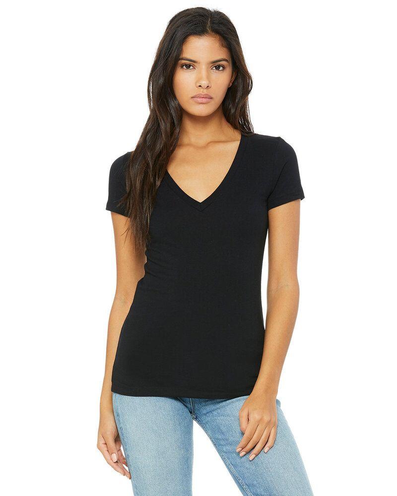 Bella+Canvas 6035 - Deep V-Neck Jersey T-Shirt
