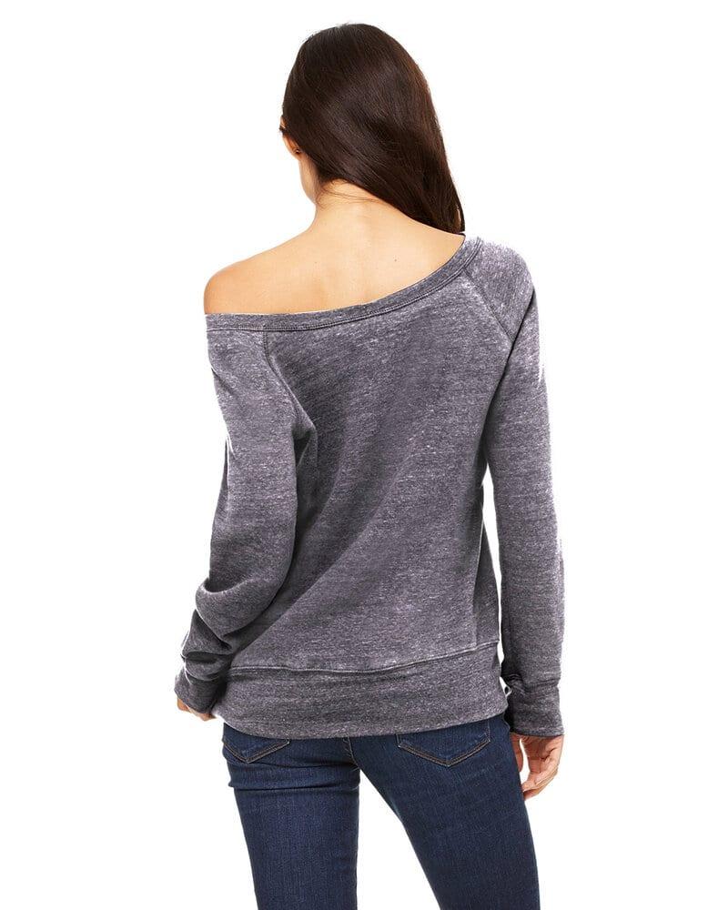 Bella+Canvas 7501 - Ladies' Triblend Wideneck Sweatshirt
