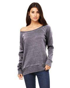 Bella+Canvas 7501 - Ladies Triblend Wideneck Sweatshirt