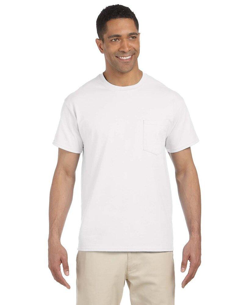 Gildan 2300 - Venta al por mayor de remera Ultra Cotton con bolsilllo