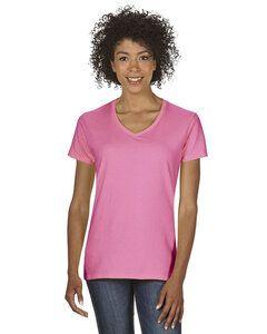 Gildan 5V00L - Ladies Heavy Cotton V-Neck T-Shirt with Tearaway Label