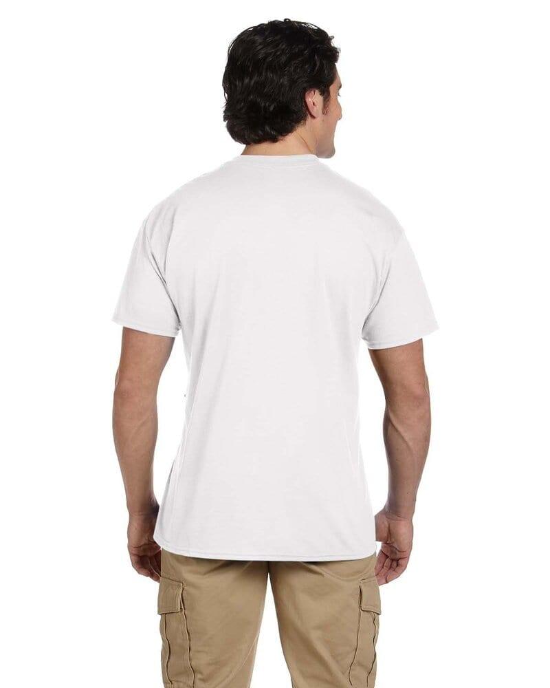 Gildan T-Shirt Tee Men/'s Short Sleeve 5.6 oz DryBlend 50//50 Pocket Basic 8300