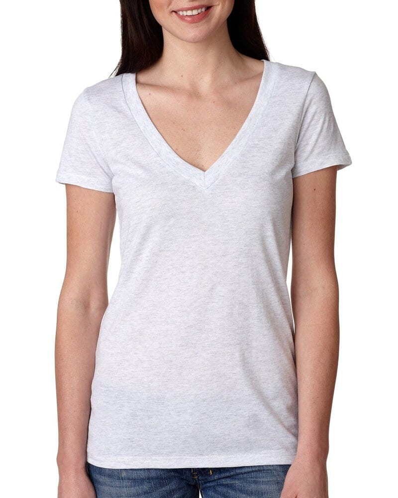 Next Level 6740 - Ladies' Triblend Deep V