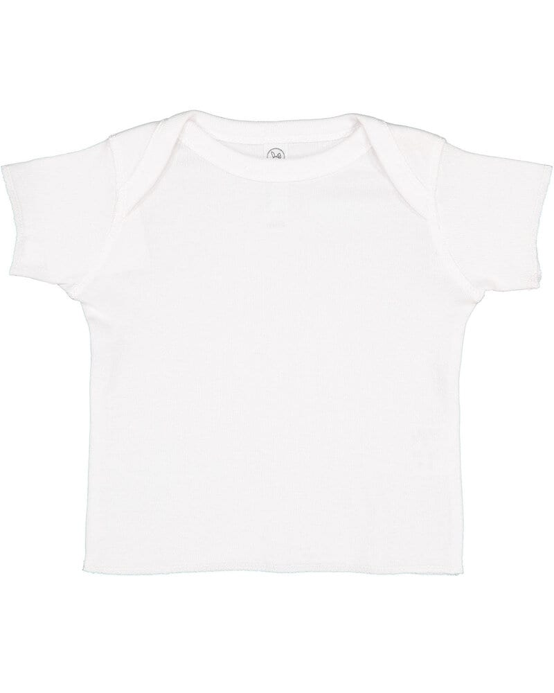 Rabbit Skins 3400 - Infant Lap Shoulder T-Shirt