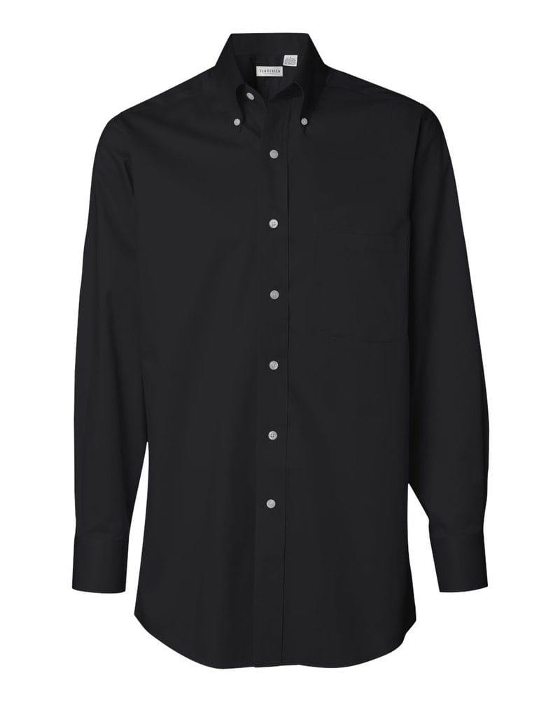 VanHeusen 13V0521 - Camisa de sarga de manga larga