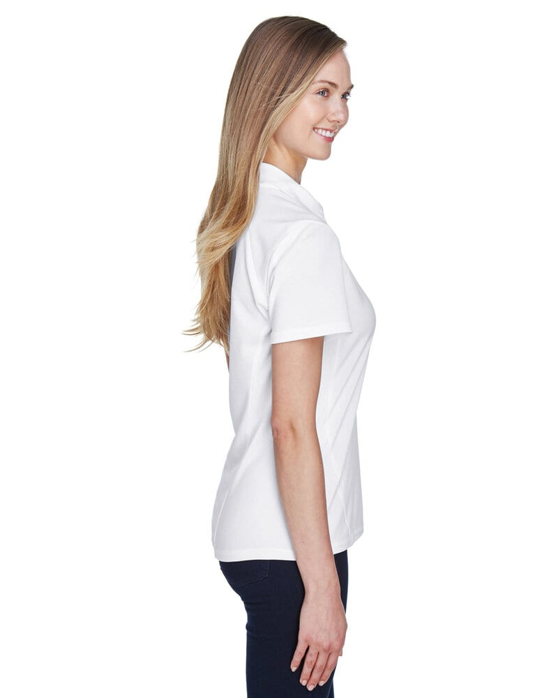 Ash City North End 78632 - Ladies' Recycled Polyester Performance Pique Polo
