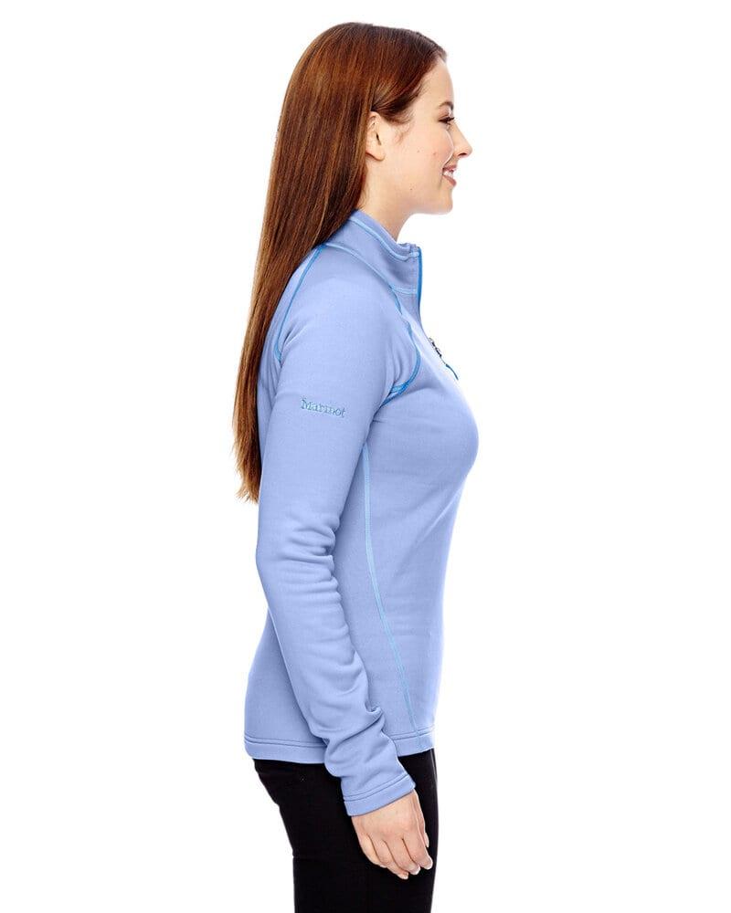 Marmot 89610 - Demi-zippé en polaire extensible pour femmes