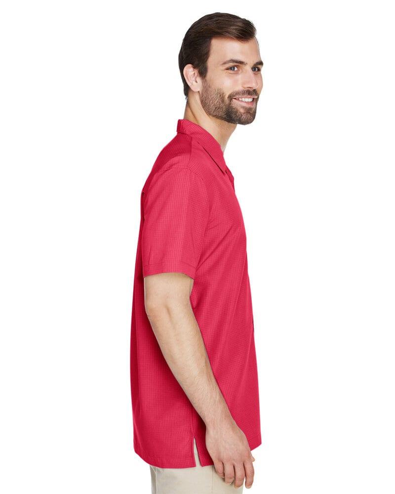 Harriton M560 - Men's Barbados Textured Camp Shirt