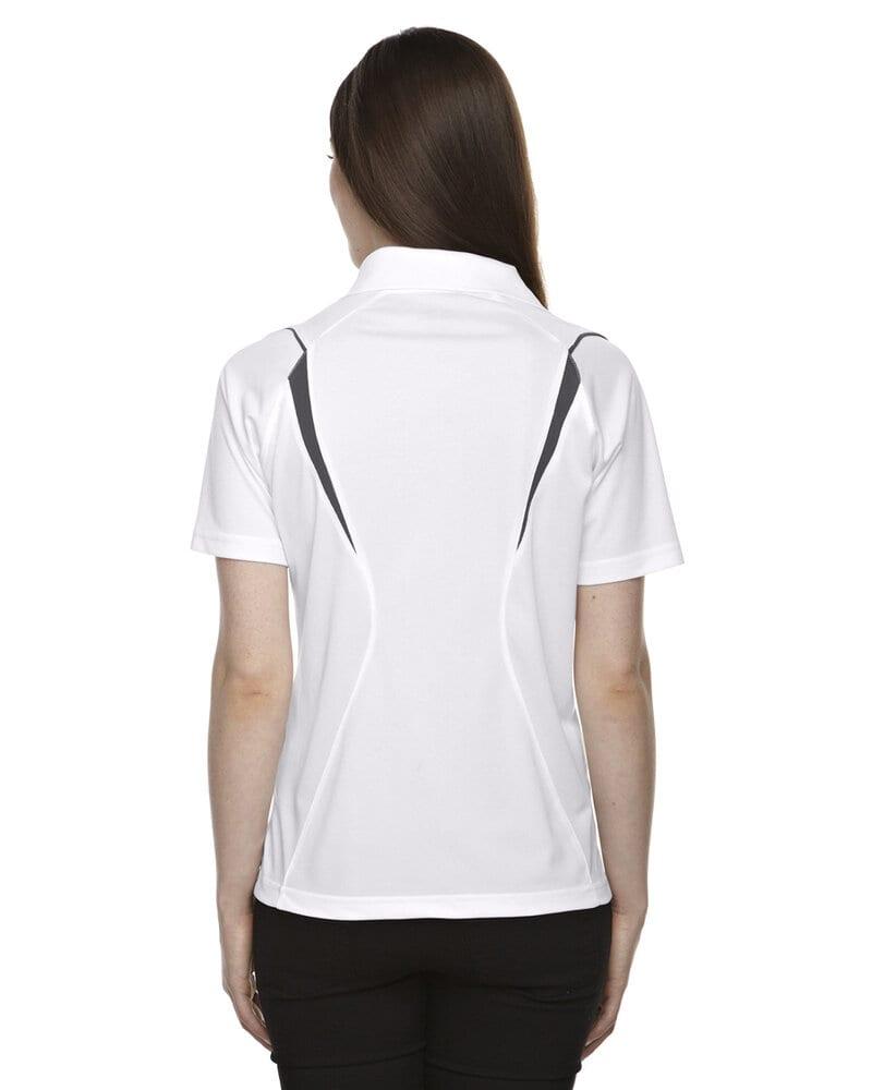 Extreme 75107 - Polo Velocity Color-Block avec passepoil, protection contre les accrocs, pour femmes