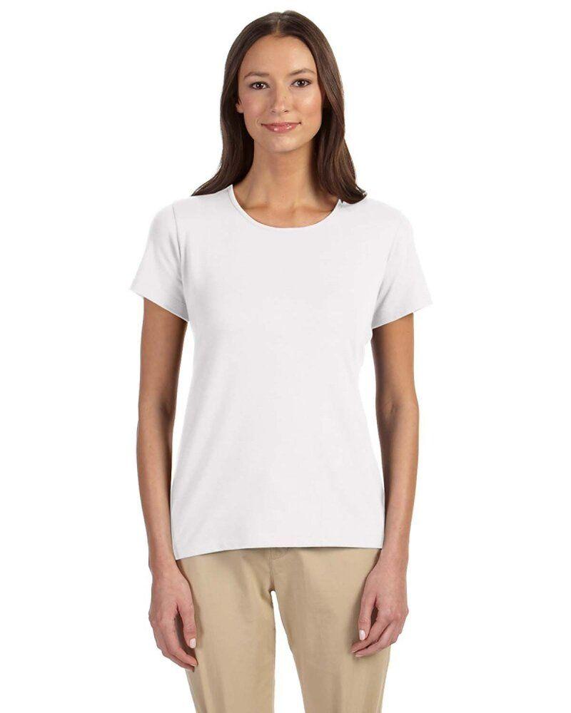 Devon & Jones DP182W - Perfect Fit™ Ladies Shell T-Shirt