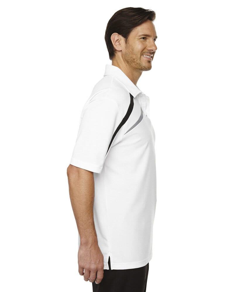 Ash City North End 88645 - Impact Men's Performance Polyester Pique Color-Block Polo