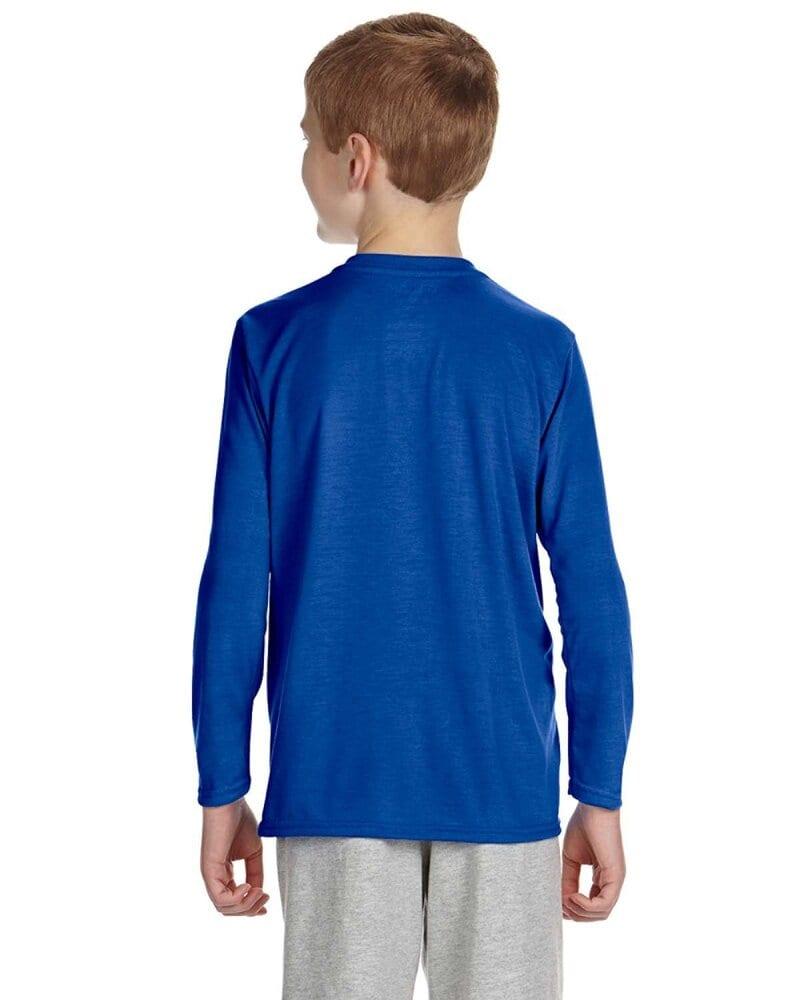 Gildan G424B - Performance Youth 5 oz. Long-Sleeve T-Shirt