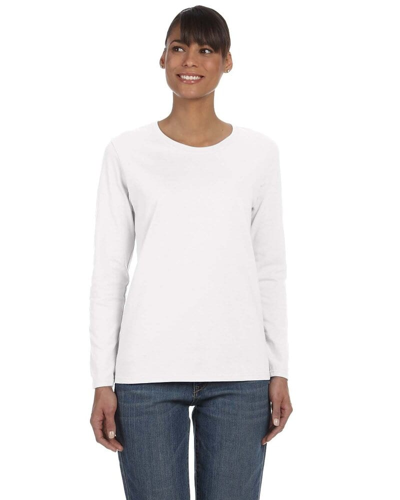 Gildan G540L - Heavy Cotton Ladies 5.3 oz. Missy Fit Long-Sleeve T-Shirt