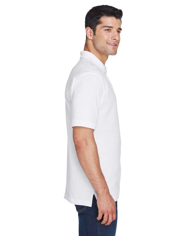 Harriton M200 - Men's 6 oz. Ringspun Cotton Piqué Short-Sleeve Polo
