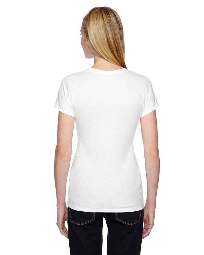 Fruit of the Loom SSFJR - Ladies 4.7 oz., 100% Sofspun Cotton Jersey Junior Crew T-Shirt