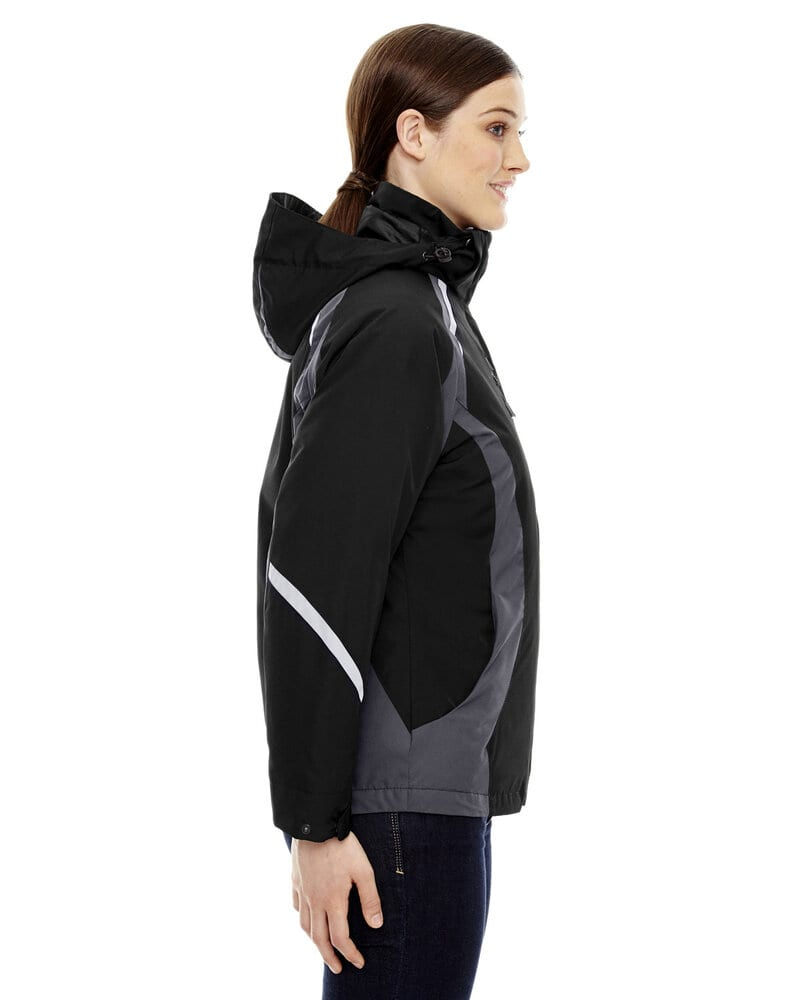 Ash City North End 78195 - Height Ladies' 3-In-1 Jackets With Insulated Liner