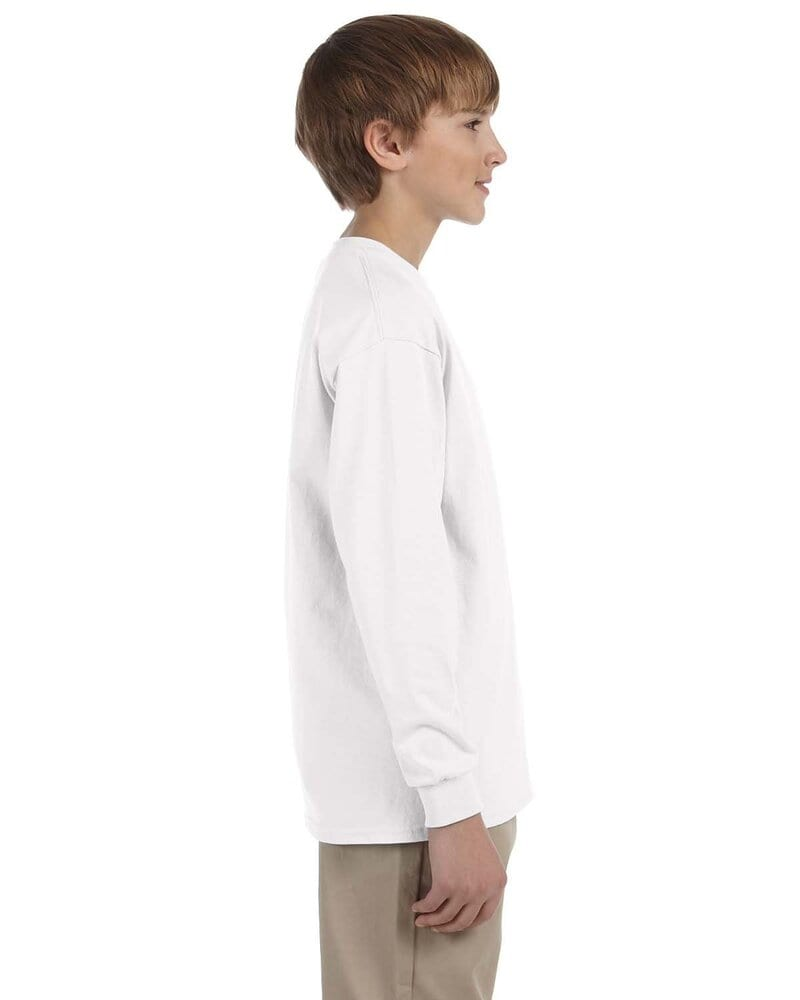 Gildan G240B - Ultra Cotton® Youth 6 oz. Long-Sleeve T-Shirt