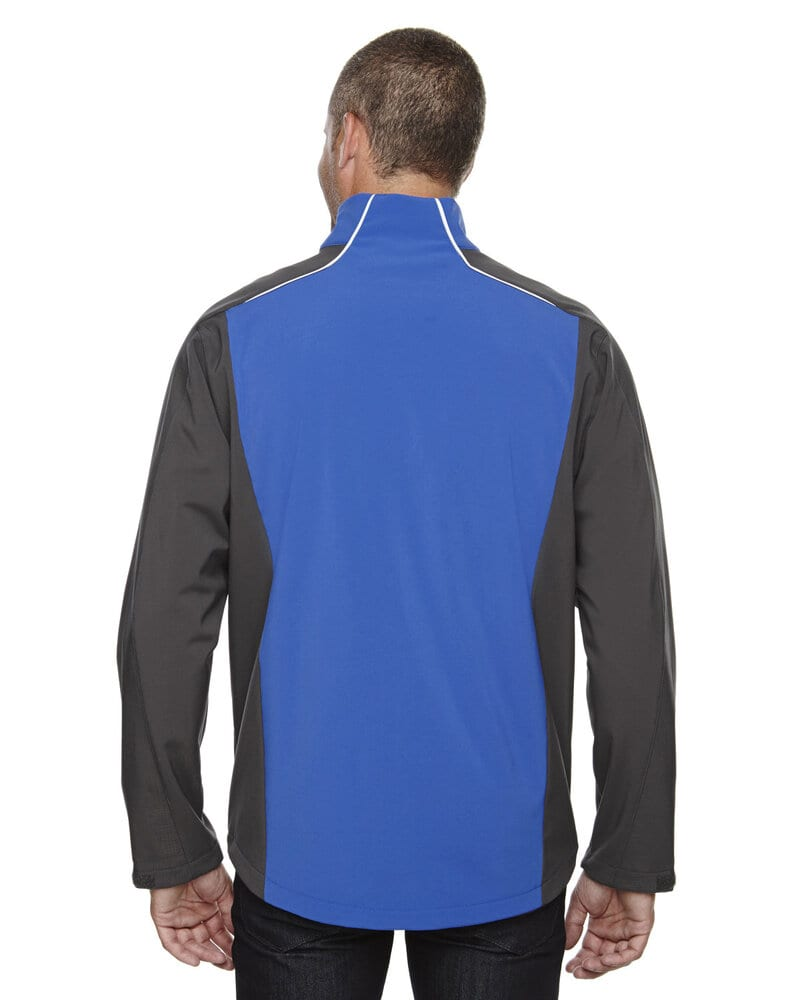 Ash City North End 88176 - Terrain Men'sColor-Block Soft Shell With Embossed Print