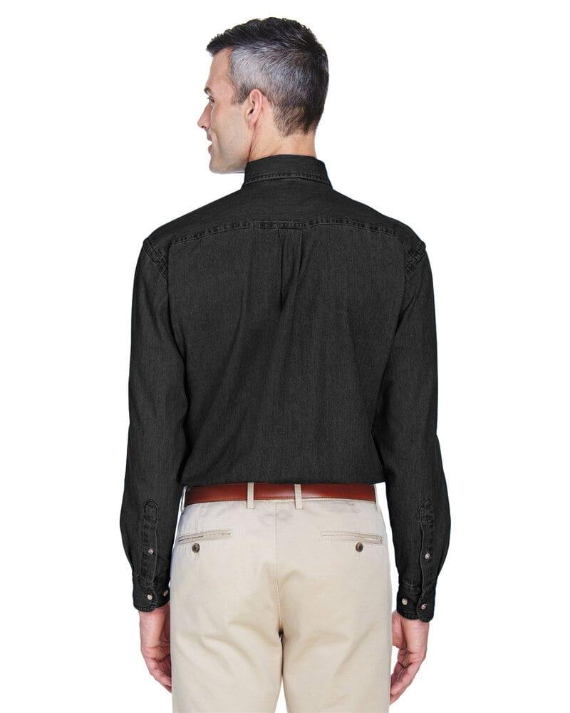 Harriton M550 - Men's 6.5 oz. Long-Sleeve Denim Shirt
