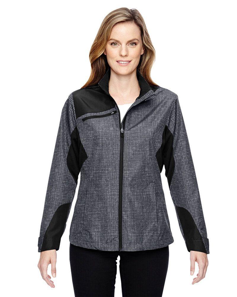 Ash City North End 78805 - Ladies Interactive Sprint Printed Lightweight Jacket