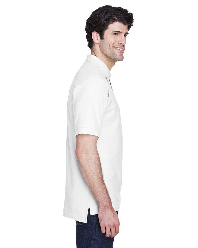 Devon & Jones D100 - Polo à manches courtes en coton Pima Piqué