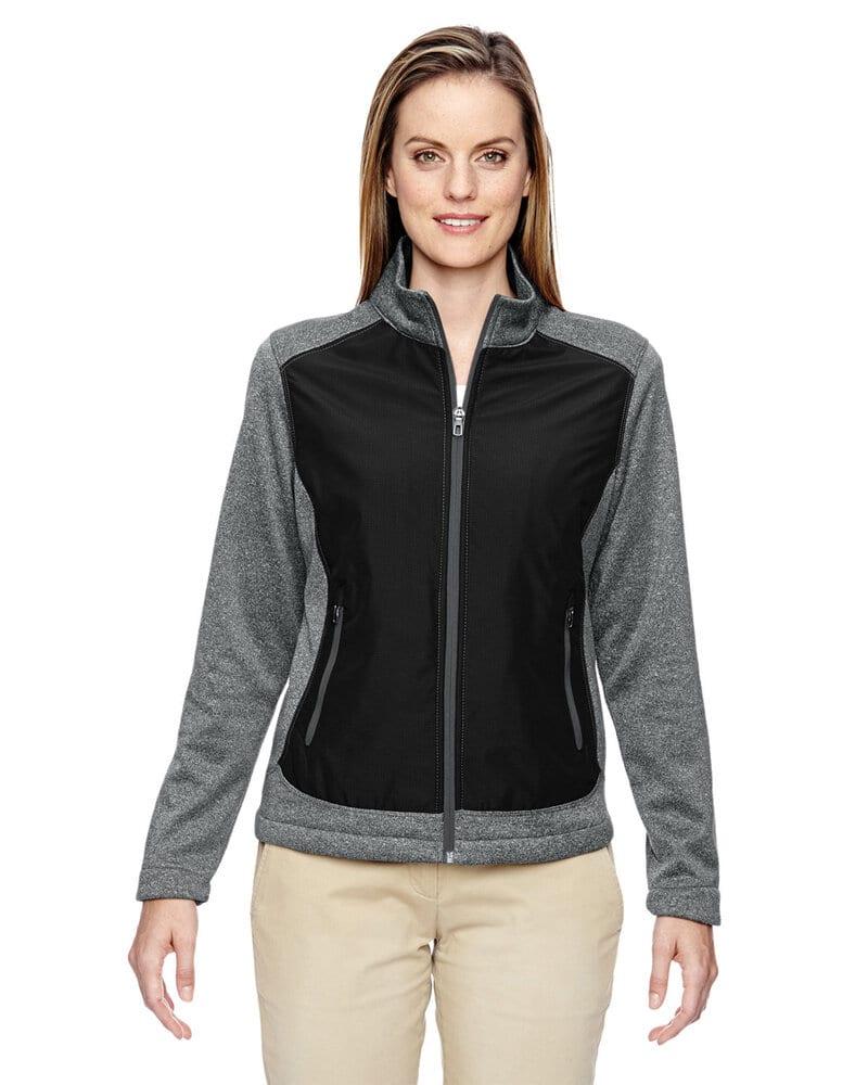 North End 78202 - Victory Ladies Hybrid Performance Fleece Jacket (veste polaire hybride)