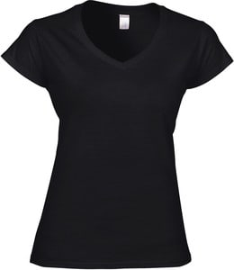 Gildan GI64V00L - Softstyle Ladies V-Neck T-Shirt