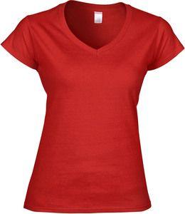 Gildan GI64V00L - Ladies` Softstyle® V-Neck T-Shirt