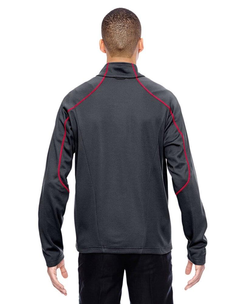 North End Sport Red 88806 - Veste Interactive Cadence bicolore à dos brossé