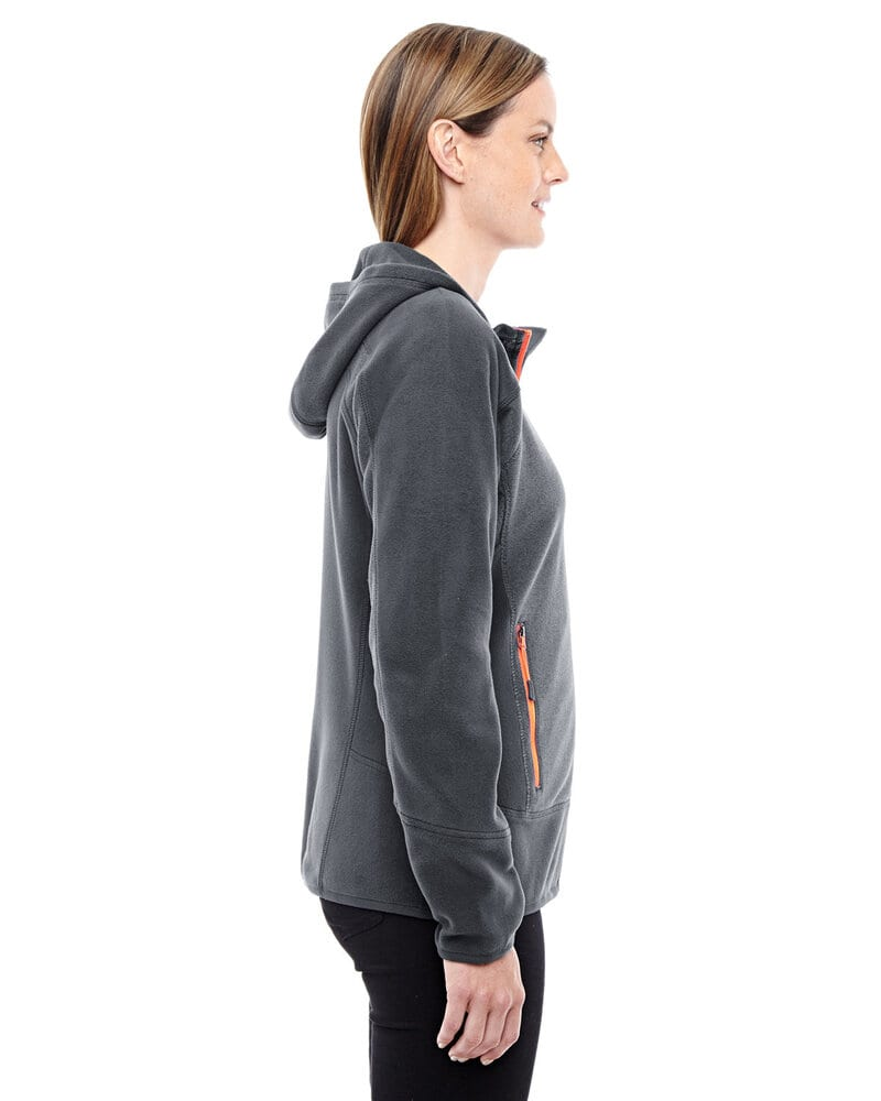 Ash City North End Sport Red 78810 - Ladies Vortex Polartec Active Fleece Jacket
