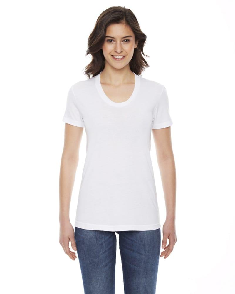 American Apparel BB301 - Ladies Poly-Cotton Short-Sleeve Crewneck