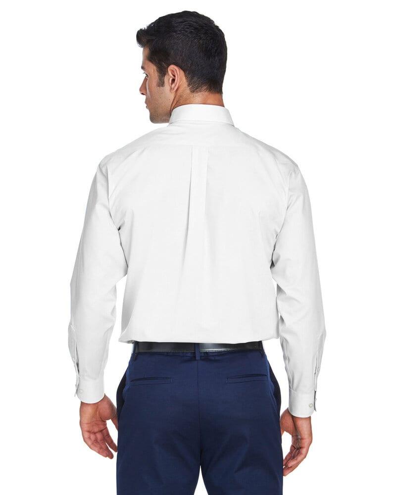 Devon & Jones D620T - Men's Tall Crown Collection™ Solid Long-Sleeve Broadcloth